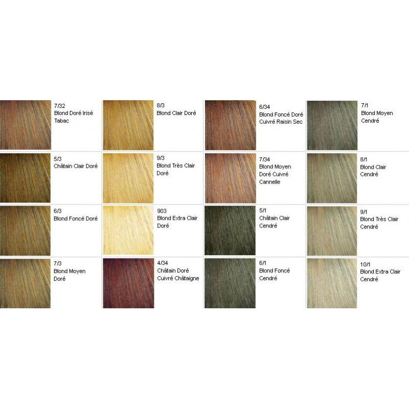 76 blond moyen rouge vnitien - Coloration Blond Moyen